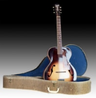 1959 Silvertone Rare Arch top One Owner