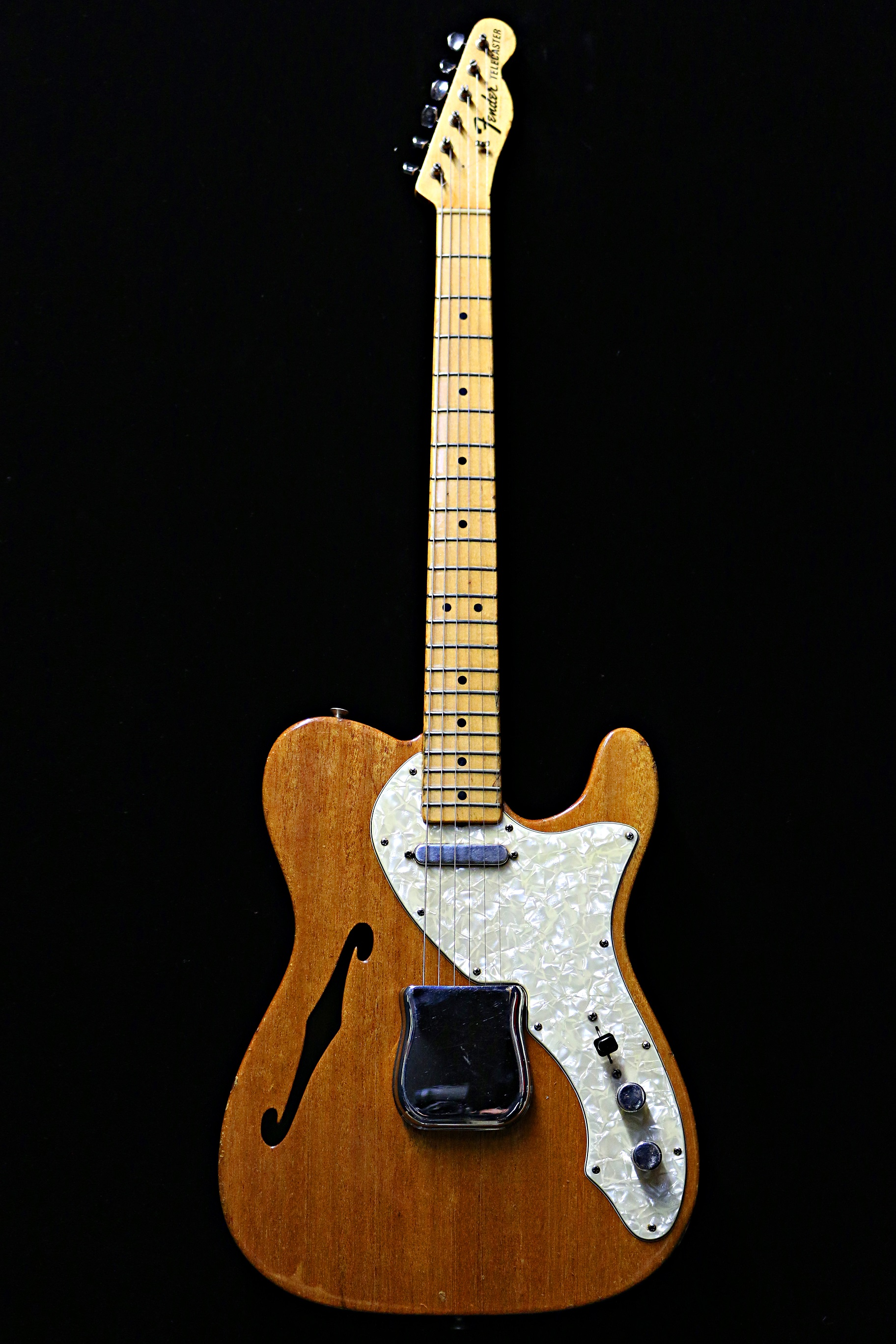 1968 fender telecaster thinline mahogany guitars electric semi hollow body guitare collection. Black Bedroom Furniture Sets. Home Design Ideas