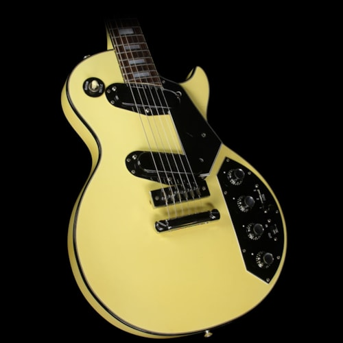 Gibson Used Steve Miller Collection Gibson 1976 Les Paul Recording Electric Guitar White