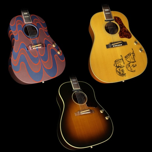 Gibson Used Gibson Montana John Lennon J-160E Collection Acoustic-Electric Guitar Set