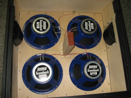 Scumbak M75-25 watt, 16ohm Speakers Quad