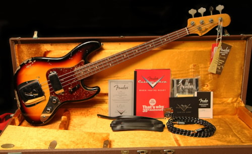 2009 Fender® Jazz '61 Relic® Bass