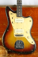 1959 Fender® Jazzmaster™ Slab-Board, Anodized Gold Guard! 1950's