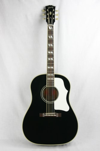 2016 gibson custom shop southern jumbo ebony black sj acoustic guitar j45 j50 aj ebony black. Black Bedroom Furniture Sets. Home Design Ideas