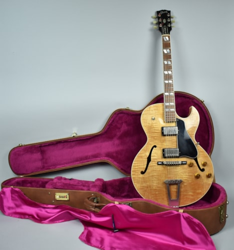 1997 Gibson ES-175 Anniversary Archtop Electric Guitar Natural USA w/OHS