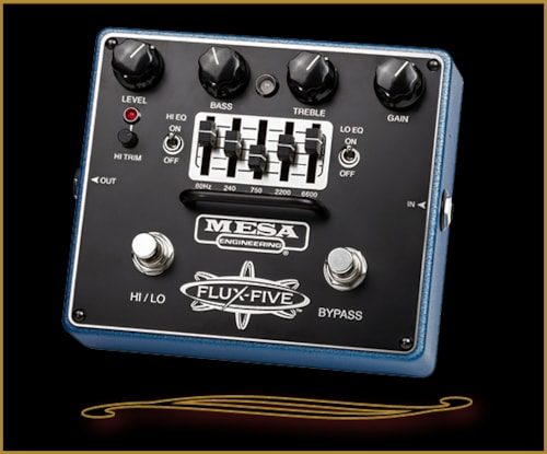 Mesa Boogie FLUX-FIVE Dual-Mode Overdrive w/ Assignable 5-Band Graphic