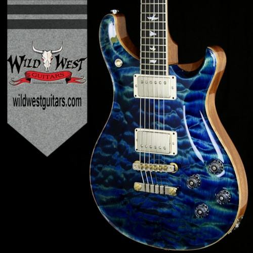2016 Paul Reed Smith (PRS) Wood Library 10 Top McCarty 594 Quilt Top W/Ebony