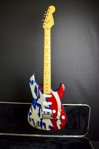 1995 Fender® Anodized Stratocaster-Stars and Stripes
