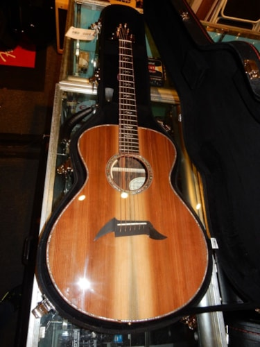 Breedlove Exotic Fingerstylist Ziricote Redwood Acoustic Electric