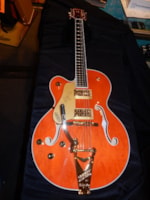 2016 Gretsch® G6120 Left Handed Hollow Body Electric Guitar