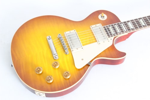 2014 Gibson Custom Standard Historic 1958 Les Paul Iced Tea VOS w/case