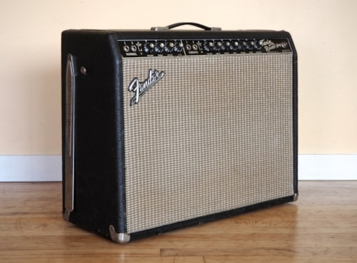 1964 Fender® Twin Reverb® Vintage Pre-CBS Blackface Tube Amplifier AB763