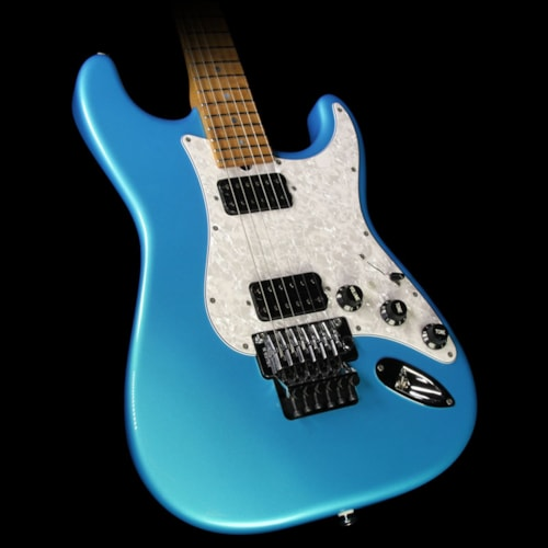 Suhr Used 2016 Suhr Classic Electric Guitar Blue Chill Gloss