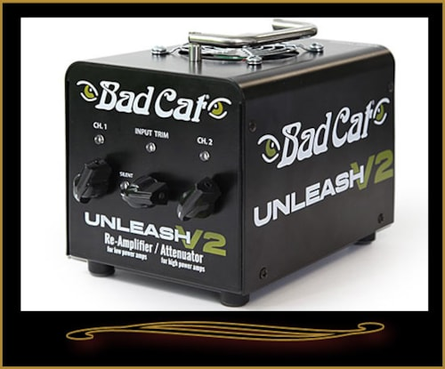 Bad cat Unleash V2 Re-Amplifier and Attenuator For Tube Amplifiers