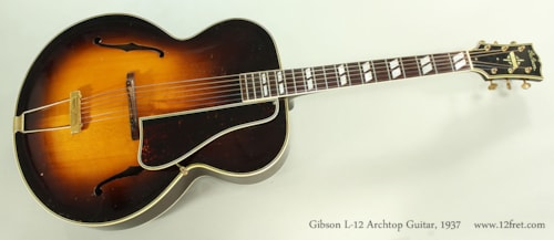 1937 Gibson L-12
