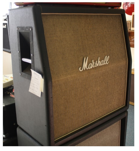 ~1970 Marshall 4x12 Basketweave cabinet