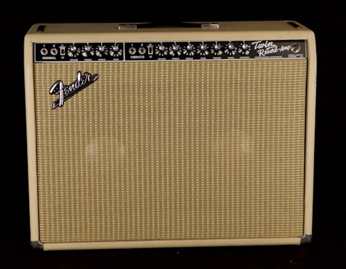 1969 Fender® Twin Reverb® / Blackface Mod / Sam Hutton / with Road Case