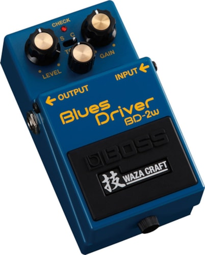 2017 BOSS BD-2W BLUES DRIVER WAZA CRAFT SPECIAL EDITION PEDAL