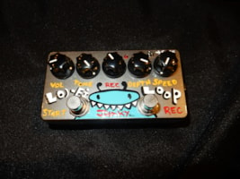 ZVEX Hand-Painted LO-FI Loop Junky Guitar Effects Pedal