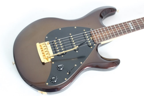 2008 ERNIE BALL MUSIC MAN Silhouette Special Sequoia Gold Limited Edition w/case
