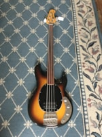 1979 Music Man Fretless Stingray Bass Guitar