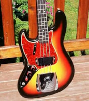 1965 Fender LEFTY Jazz Bass