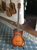 1950 Kay Thin Twin K162 Bass Guitar