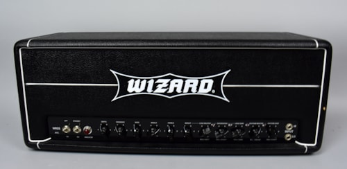 wizard mtl metal 100 watt electric guitar all tube amplifier head black amps preamps. Black Bedroom Furniture Sets. Home Design Ideas