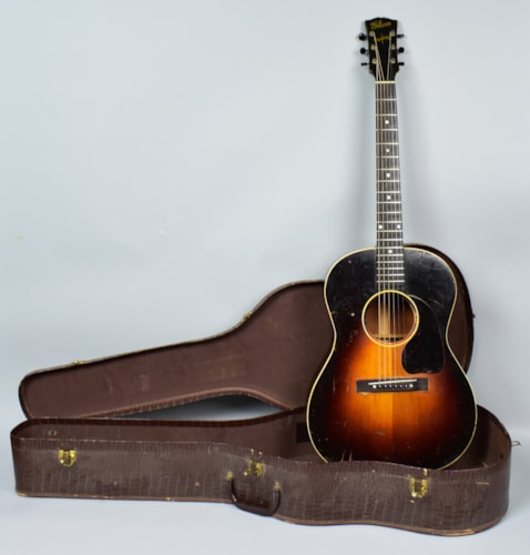 ~1945 Gibson LG-2 Banner Headstock Vintage Flattop Acoustic Guitar w/OSSC