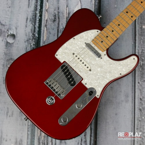 fender fender telecaster b bender candy apple red guitars electric solid body replay. Black Bedroom Furniture Sets. Home Design Ideas
