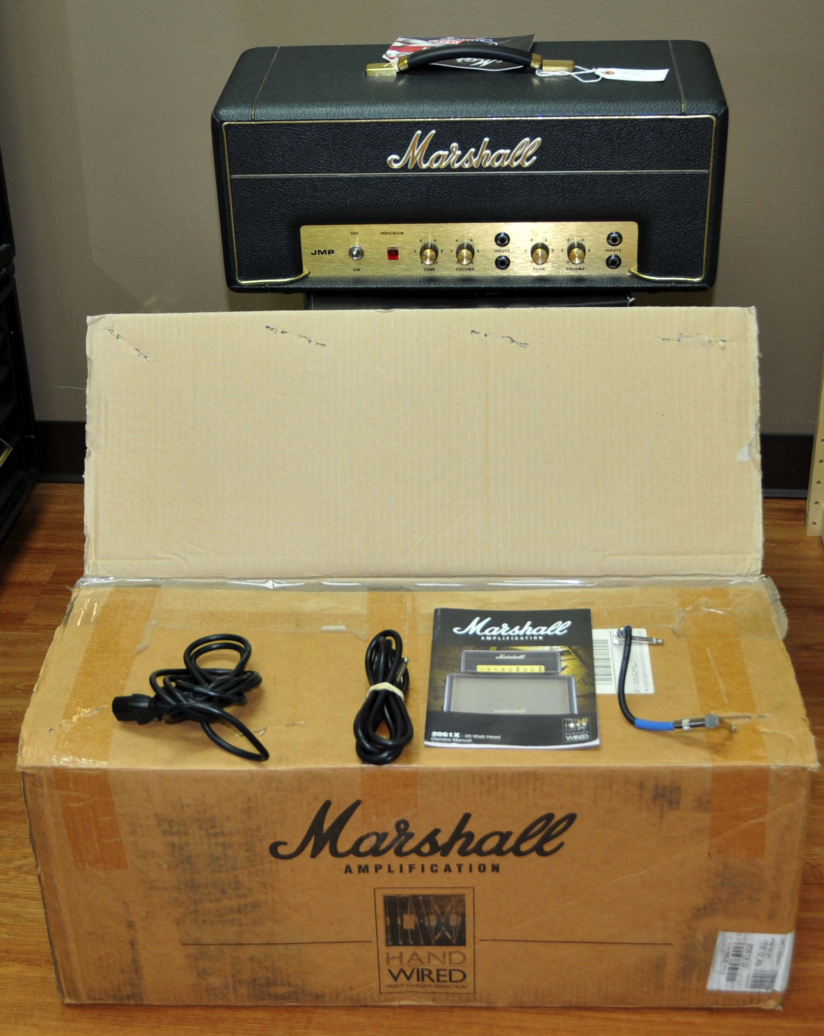 2005 Marshall Lead & Bass 20 2061x Black > Amps & Preamps ...