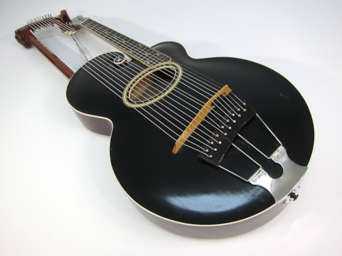 Cleanest Orville era Gibson Style U Harp Guitar Ever