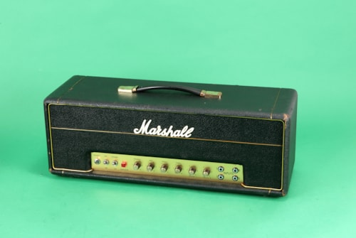 1968 Marshall 50 Watt guitar amplifier