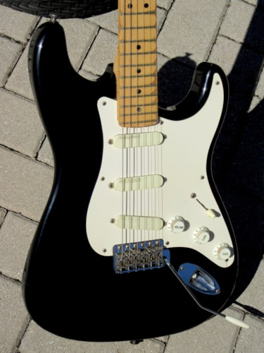 "1993 Fender® Stratocaster® Eric Clapton ""Blackie"" Signature model"