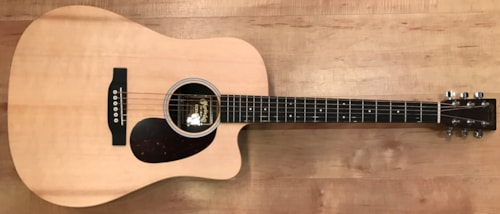 2017 Martin DCX1AE Dreadnought Acoustic-Electric Guitar