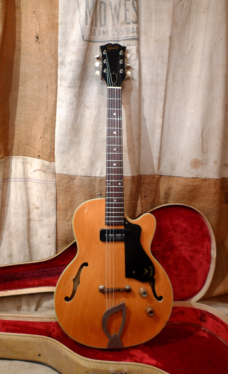 Dings And Dents >> 1961 GUILD M-65 Freshman 3/4 Blond > Guitars Electric Semi-Hollow Body | Southside Guitars