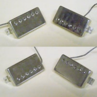 1961 Gibson real VINTAGE pair PAF, Patent Applied For pickups
