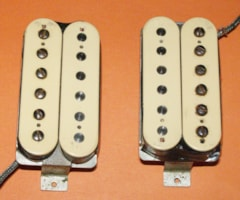 1960 Gibson real VINTAGE pair PAF, Patent Applied For pickups -price in listing