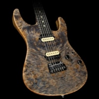 Suhr Modern Waterfall Burl Maple Electric Guitar Trans