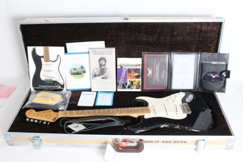 2006 Fender® Eric Clapton Tribute Blackie Masterbuilt by Greg Fessler