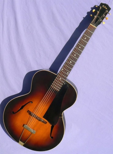 1939 Gibson L-50, Solid Carved Back