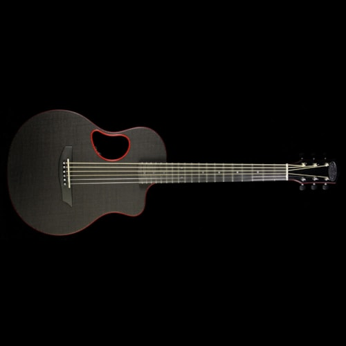 McPherson Touring Carbon Fiber Acoustic-Electric Guitar Red Binding