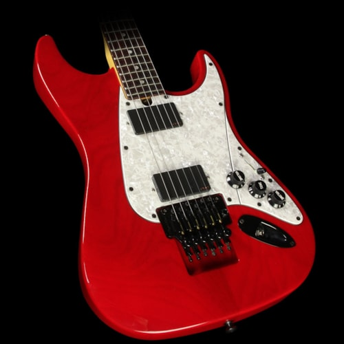Floyd Rose Used Floyd Rose Guitar Redmond Series Electric Guitar Trans Red