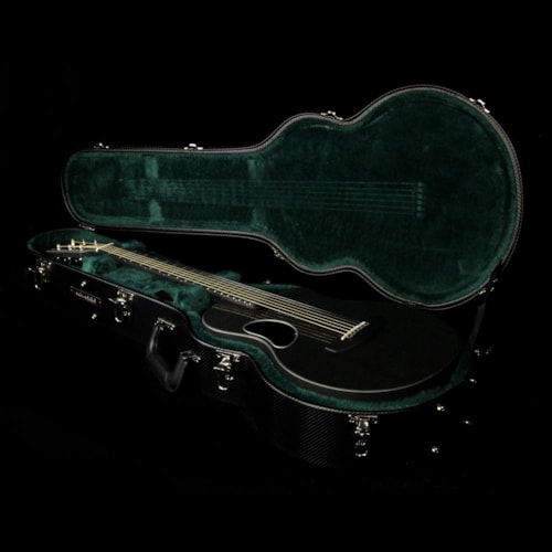 McPherson Touring Carbon Fiber Acoustic-Electric Guitar Silver Binding