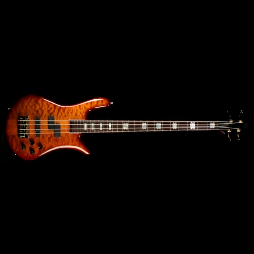Spector Euro4 LX Electric Bass Ultra Amber Gloss