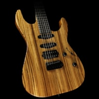 ESP USA Limited Edition M-III Zebrawood Electric Guita