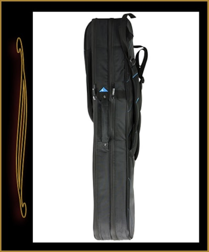 Reunion Blues RBX-2E Double Electric Guitar Gig Bag