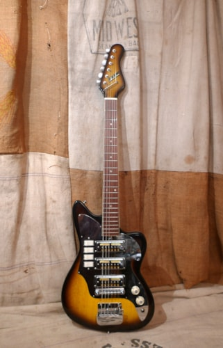 1964 Teisco Audition Triple