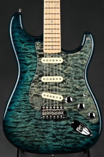 2011 Fender® Custom Shop Master Built Quilt Top Stratocaster® - NAMM 2012