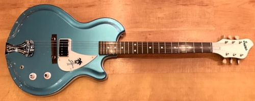 2017 Supro Americana Series Sahara Electric Guitar